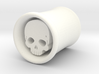 Skull Dangle Plug 00 Gauge 3d printed