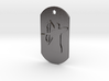 Bow Hunter Dog Tag 3d printed