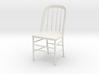 """Eustis Edison Chair Miniature 4"""" tall 3d printed"""