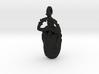 4.4cm Scarab Beetle Pendant - v3 3d printed