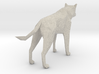 14cm Low Poly Wolf Statue 3d printed