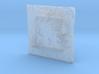 4'' Sedona Terrain Model, Arizona, USA 3d printed
