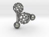 C60 (Fullerene) Cufflinks 3d printed