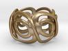 Incan Eyez Ring 3d printed