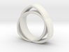 The Trinity Ring 3d printed