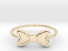 Knuckle Bow Ring, 15mm diameter by CURIO 3d printed
