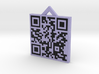 QRCode -- http://www.archipelis.com 3d printed