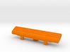 Bridge Pick Holder - Badass II Bridge - Lines 3d printed