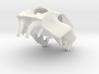 Tiger Skull pendant  3d printed