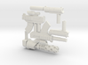 8 inch Dunny Hitman Weapons 3d printed