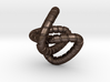 knot II amulett 3d printed
