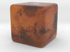 Cube Planet : Mars, 1 inch 3d printed