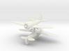 1/300 Seversky P35/J-9 (x2) 3d printed