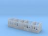 MSLR/GCR Tri-composite Coach body 3d printed