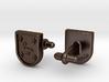 Heraldic Cufflinks (Echeverría) 3d printed