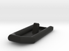 Zodiac Boat 1:100 (type 2) 3d printed