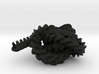 Triple gear (small, with axle) 3d printed