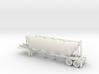 HO 1/87 Dry Bulk Trailer 01 (bigger tank) 3d printed