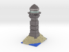 Minecraft Lighthouse  3d printed