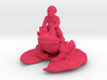 Putti On A Frog on a Pad 3 Inches tall 3d printed