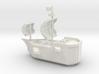 PlusCraft Admin Ship 3d printed