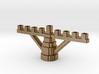 Minecraft Menora 3d printed