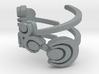 Zelda goddess swirl ring (med/adjustable) 3d printed