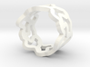 Tessellation Ring - 18,5mm 3d printed