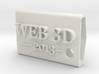 KeyFobWeb3d2013BasqueCountry 3d printed