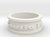 Omnia Causa Fiunt Ring Size 9.25 3d printed