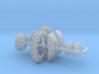 1/12 Modern 11.6 Inch Diam 6 Piston Disk Brake Set 3d printed