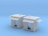 HO Rear Airmens Shanties Two Mirrowed 3d printed