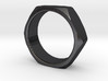 Nut Ring Size 9 3d printed