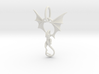 Dragon pendant # 6 3d printed
