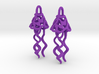 Earrings Dew Bell  3d printed