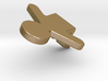 Gingerbread Man_Seated 3d printed