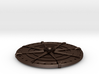 Compass Medallion 3d printed