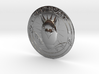 Fiat Bomb Silver Coin 3d printed