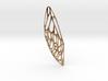 Cicada Wing Pendant 3d printed