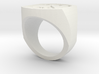 Signet Ring 3d printed