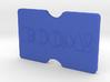 Custom Slimline 3 Card Wallet 3d printed