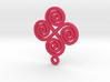 4 Spiral pendant 3d printed