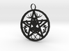 Cernunnos Hex Infinity Pendant  # 2, the Original 3d printed