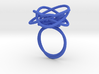 Sprouted Spiral Ring (Size 7) 3d printed