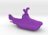 Yellow Submarine 3d printed