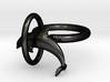 Dolplin Ring (US Size7) 3d printed