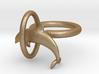 Dolplin Ring (US Size 6) 3d printed