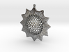 Trochodiscus stellaris pendant ~ 46mm 3d printed