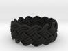 Turk's Head Knot Ring 4 Part X 13 Bight - Size 7 3d printed