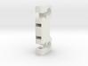V-lock / AntonBauer battery bracket for 15mm bars 3d printed